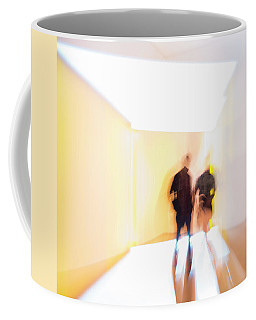 Lightbox Coffee Mug by Alex Lapidus