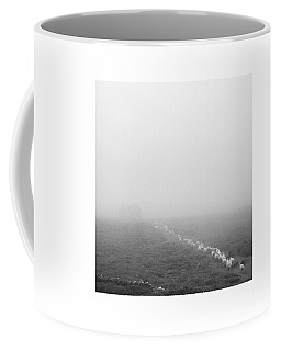 Lighter Than Black - Descending To Sheep In The Clouds Coffee Mug