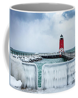 Lighthouse And Ice Coffee Mug