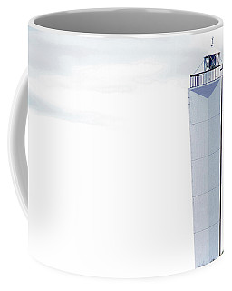 Coffee Mug featuring the photograph Lighthouse At Cape Jervis by Stephen Mitchell