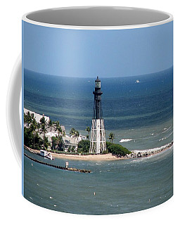 Lighthouse At Hillsboro Beach, Florida Coffee Mug