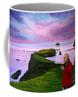 Lighthouse At Mykines Faroe Islands Coffee Mug