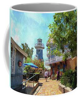 Lighthouse At Seaport Village Coffee Mug