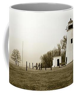 Lighthouse At Turkey Point Coffee Mug
