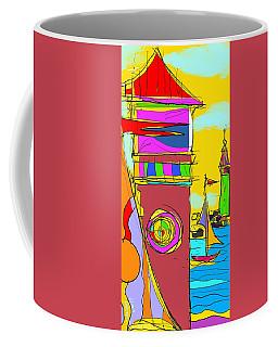 Lighthouse Landing Coffee Mug