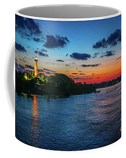 Lighthouse Light Beam Coffee Mug