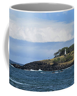 Coffee Mug featuring the photograph Lighthouse by Pamela Walton