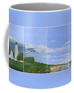 Lighthouse Panels Coffee Mug