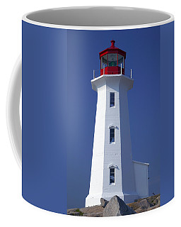 Lighthouse Peggy's Cove Coffee Mug by Garry Gay
