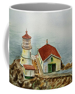 Lighthouse Point Reyes California Coffee Mug