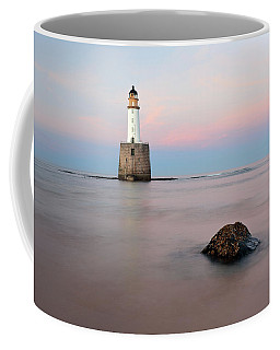 Coffee Mug featuring the photograph Lighthouse Rattray by Grant Glendinning
