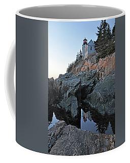 Lighthouse Reflection Coffee Mug by Glenn Gordon