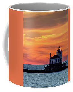Lighthouse Silhouette Coffee Mug