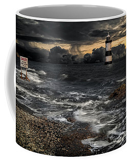 Lighthouse Storm Coffee Mug