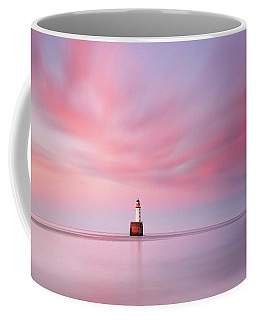 Coffee Mug featuring the photograph Lighthouse Sunset by Grant Glendinning