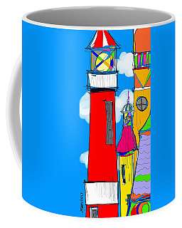 Lighthouse Carnival Coffee Mug