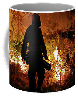 Lighting The Burn Coffee Mug
