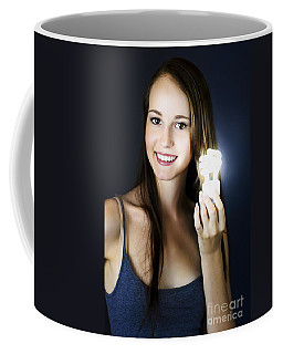 Coffee Mug featuring the photograph Lighting The Way To Innovation by Jorgo Photography - Wall Art Gallery