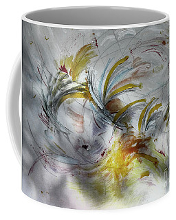 Coffee Mug featuring the digital art Lightness Of Being by Rosanne Licciardi