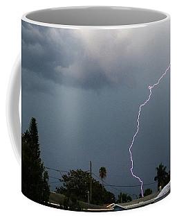 Lightning Bolt Illuminates The Sky Coffee Mug