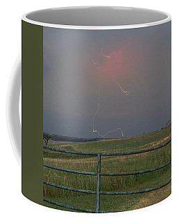 Lightning Bolt On A Scenic Route Coffee Mug