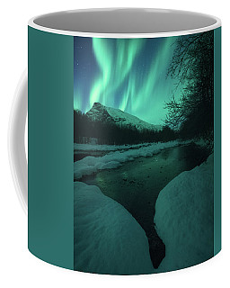 Lights Above Kjellerkampen Coffee Mug