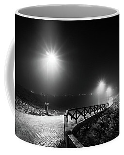 Lights And Fences. Coffee Mug