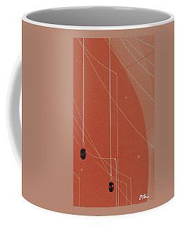 Lights And Lines Abstract Coffee Mug