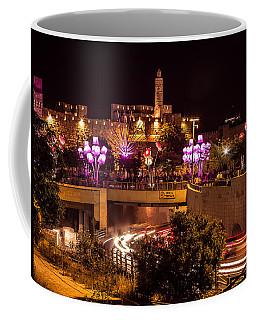 Lights In Jerusalem Coffee Mug