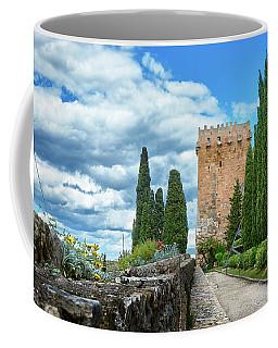 Like A Fortress In The Sky Coffee Mug