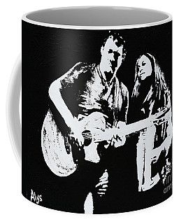 Like Johnny And June Coffee Mug by Alys Caviness-Gober