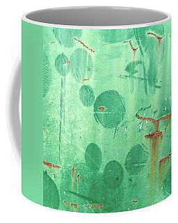 Like Round Fingerprints. The More I Coffee Mug
