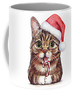 Cat Santa Christmas Animal Coffee Mug