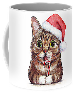 Cat Santa Christmas Animal Coffee Mug