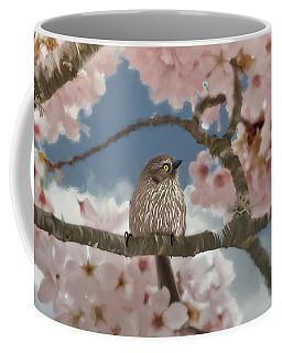 Lil Bushtit Coffee Mug by Beve Brown-Clark Photography