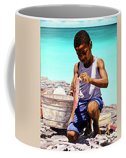 Lil Fisherman Coffee Mug