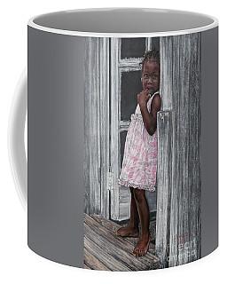 Lil' Girl In Pink Coffee Mug