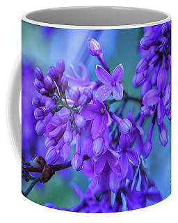 Lilac Blues Coffee Mug by Elizabeth Dow