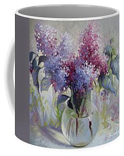 Lilac Bouquet Coffee Mug