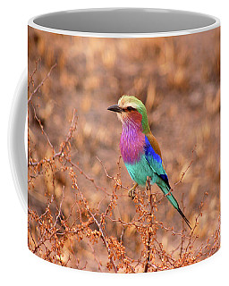 Lilac Breasted Roller Coffee Mug