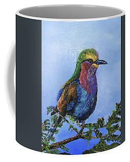 Lilac Breasted Roller Coffee Mug