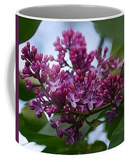 Lilac Buds Coffee Mug