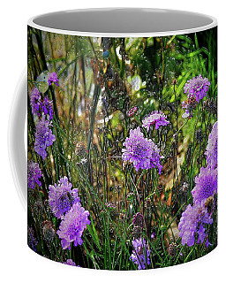 Lilac Carved Jellytot Coffee Mug