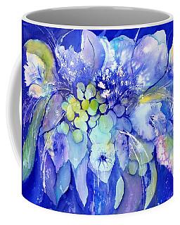 Lilac Flowers With Berries Coffee Mug