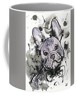 Lilac Frenchie Coffee Mug