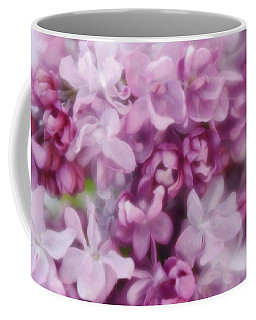 Coffee Mug featuring the photograph Lilac - Lavender by Diane Alexander