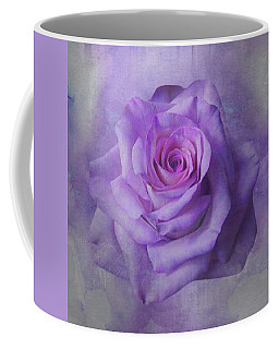 Lilac Purple Rose Coffee Mug
