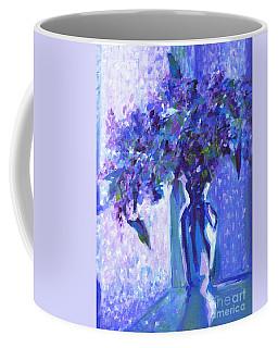 Lilac Rain  Coffee Mug
