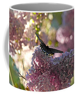 Coffee Mug featuring the photograph Lilac World by Michele Myers