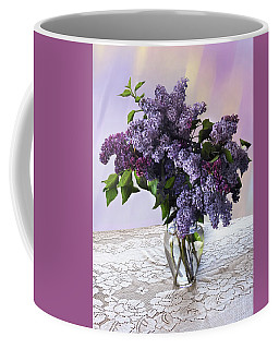 Lilacs Coffee Mug
